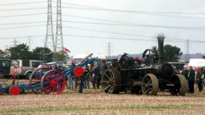 Early Mole Ploughing