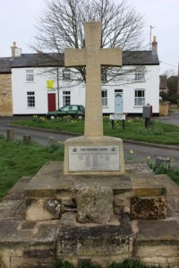 The Farmers Cross on Castor Green dedicated to the farmers in William's Parishes.
